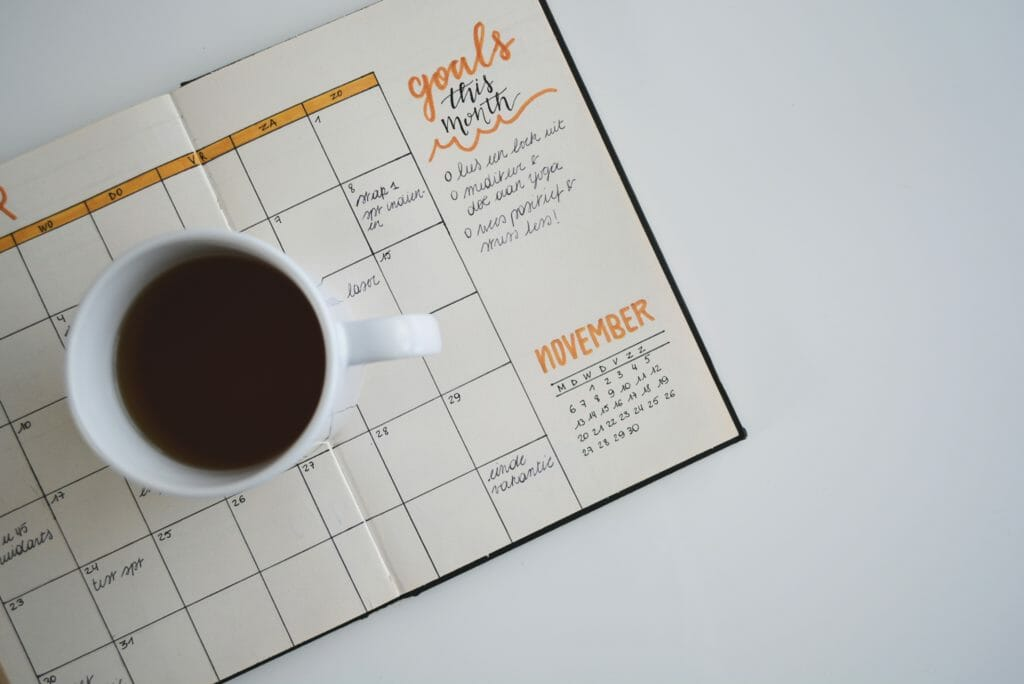 Goals for the month planner