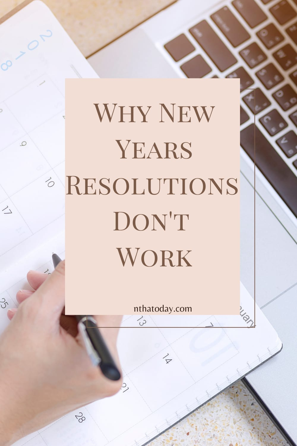 having a plan of action is better than resolutions